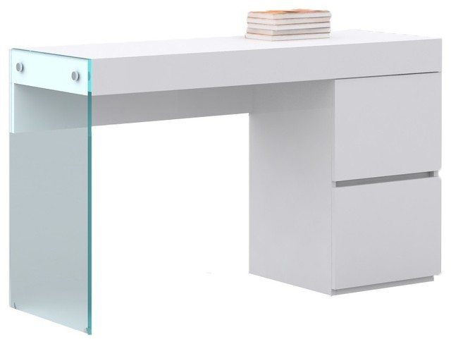 Il Vetro Collection Office Desk By Casabianca Home.