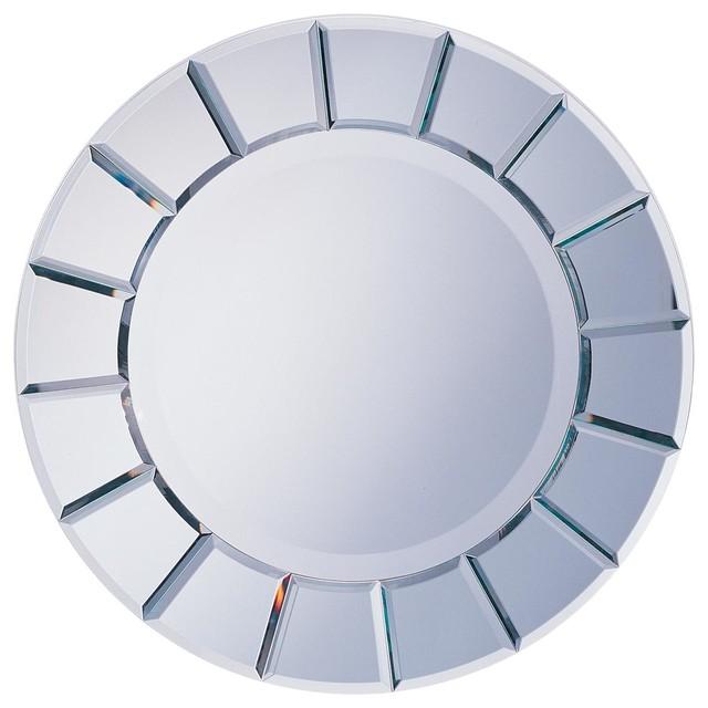 Round Sun-Shape Mirror.