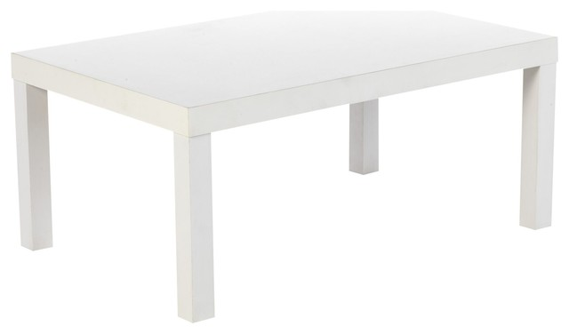 New smile table basse rectangulaire contemporary coffee tables by alin - Alinea tables basses ...