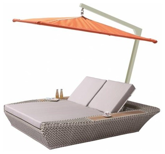 Evian Double Chaise Lounge With