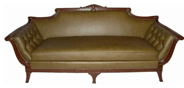 philadelphia colonial sofa victorian sofas by. Black Bedroom Furniture Sets. Home Design Ideas