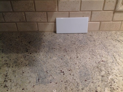 Backsplash To Go With Kashmir White Granite