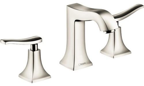 Hansgrohe 31073 Metris C Widespread Faucet, Chrome - Contemporary ...