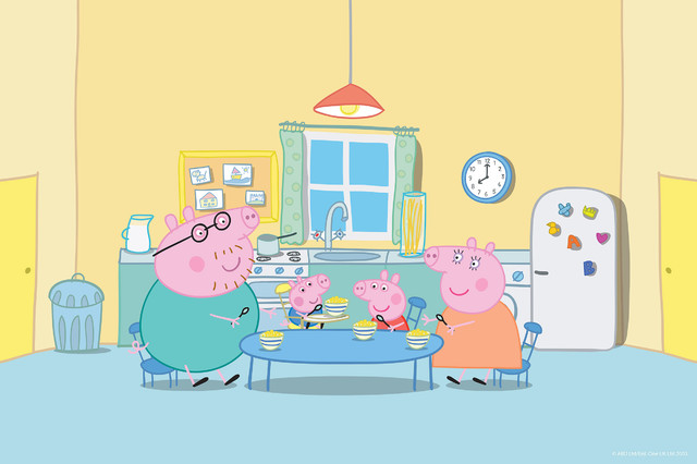 Peppa in the Kitchen\