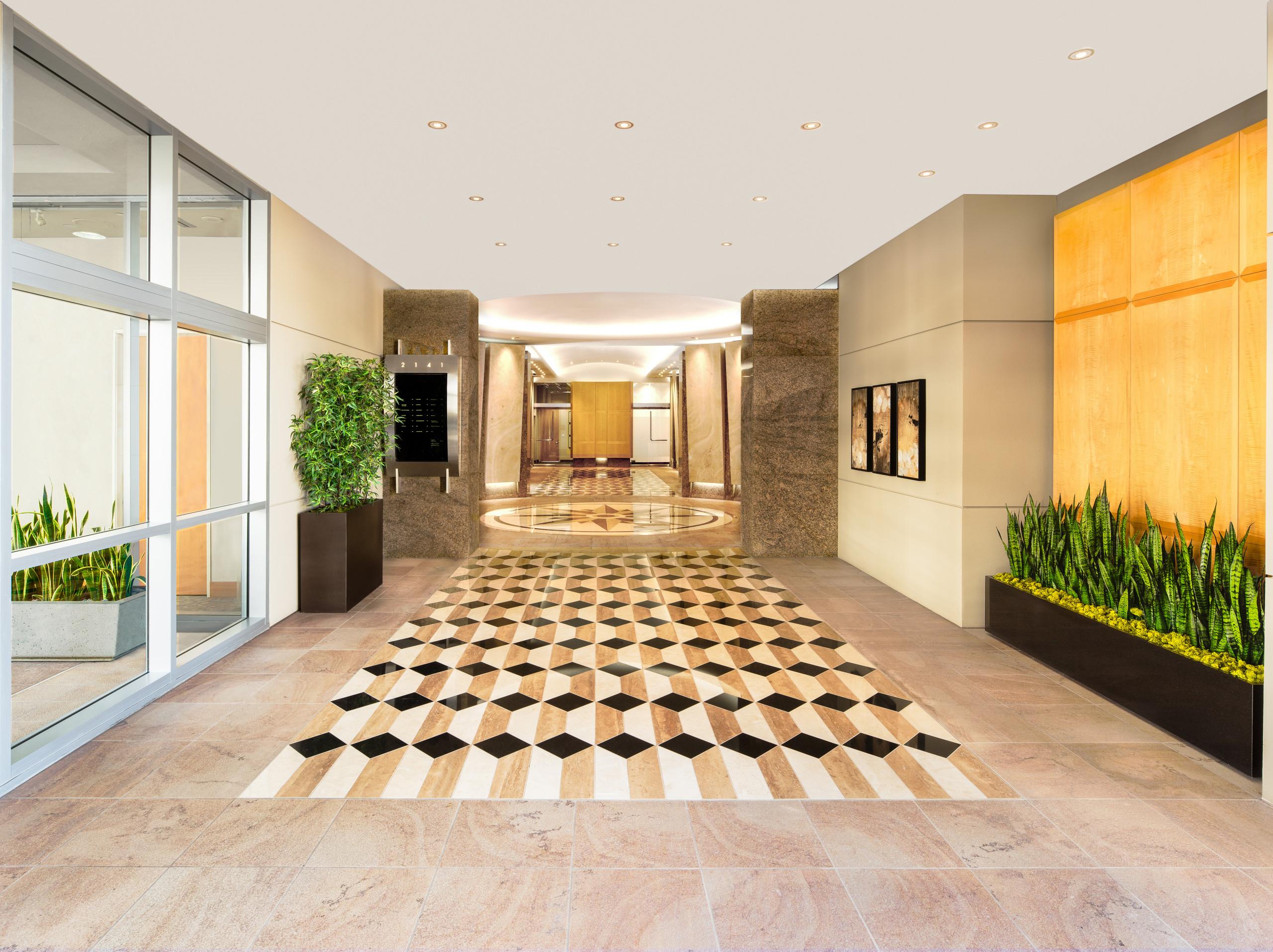 Custom Stone Floor
