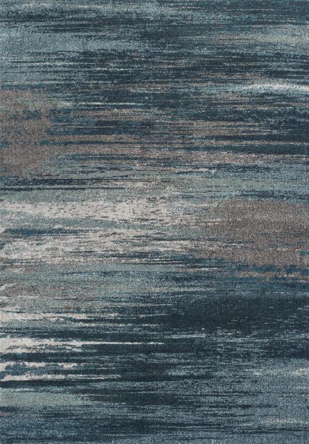 Dalyn Modern Grays Mg5993 Teal Area Rug 5&x27;3&x27;&x27;x7&x27;7&x27;&x27;.