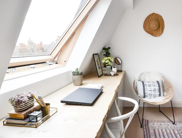 London Terrace Master Bedroom scandinavian
