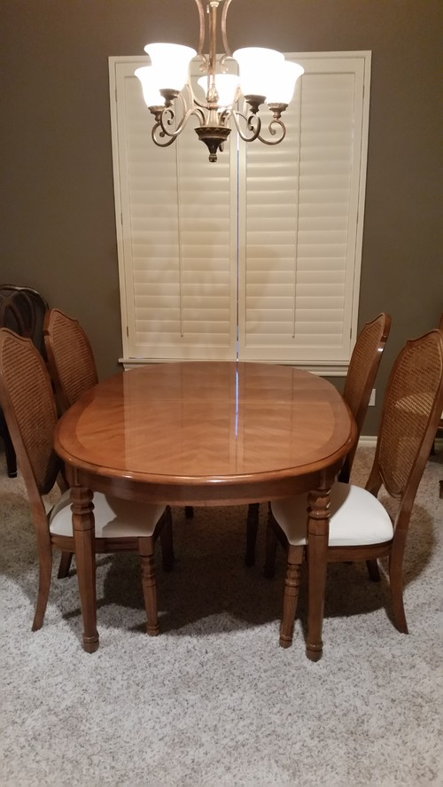 Redoing A Formal Dining Room Table