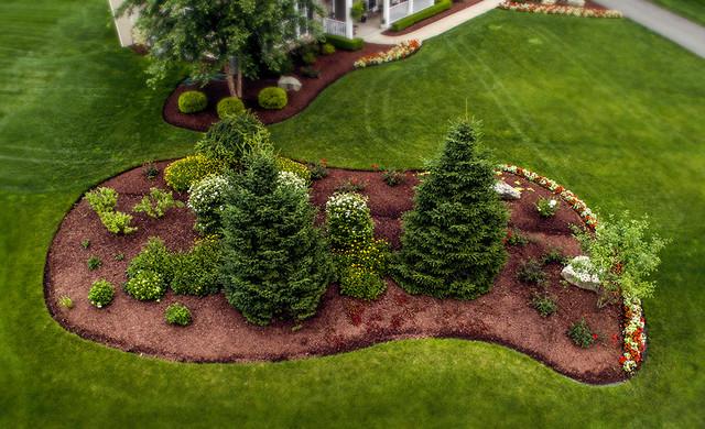 New Construction Plum PA Contemporary Landscape