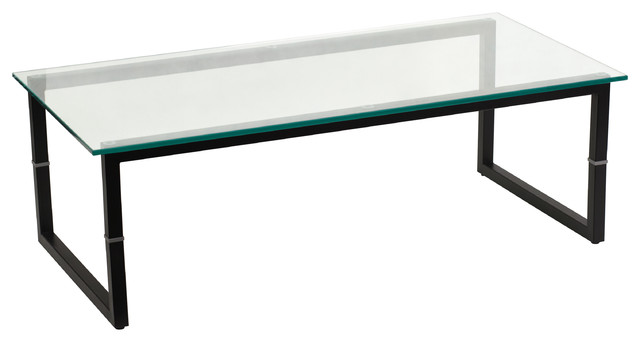 Flash Furniture Glass Coffee Table