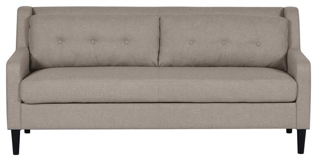 Bosnia Midcentury Sofa, Gray