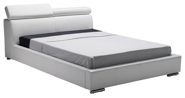 Vertu Bed, White, Queen.