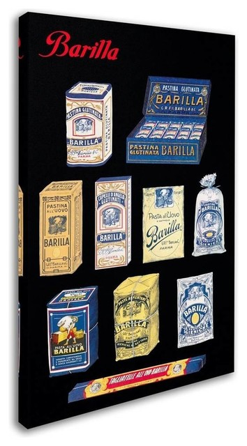 Vintage Apple Collection 'Pasta Barilla' Canvas Art (12 in  W x 19 in  H)