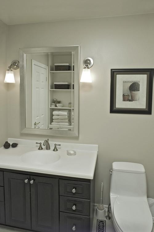 Vanity & mirror size