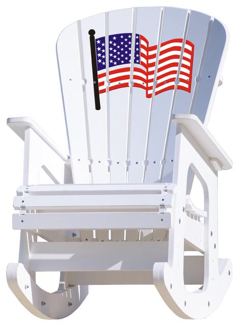 Outstanding Rocking Chair Usa Flag Short Links Chair Design For Home Short Linksinfo