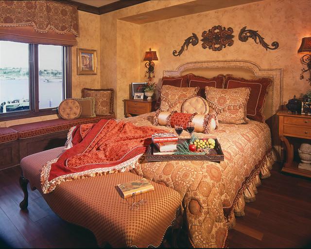 Newport Beach Ca Mediterranean Bedroom Orange County By Obvious Flair Interior Design