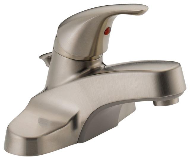 Delta Single Handle Lavatory Faucet P136lf Bn M Bathroom Sink Faucets By Showerdoordirect