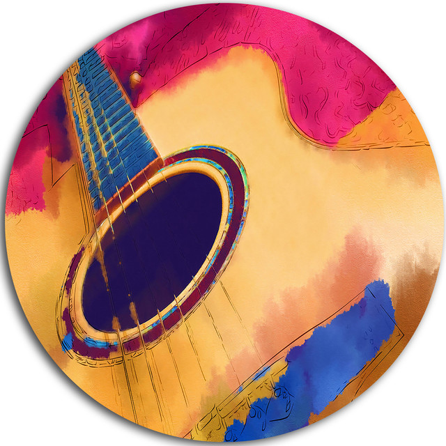 Listen To The Colorful Music, Music Disc Metal Artwork ...