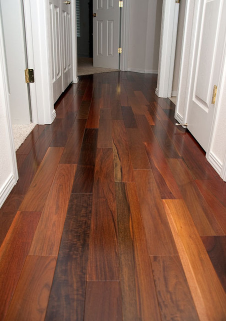 Brazilian Walnut Ipe Variances Traditional Seattle