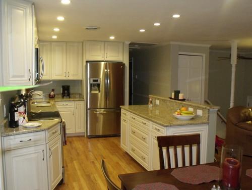 Foyer Room Jobs : Split foyer kitchen reno