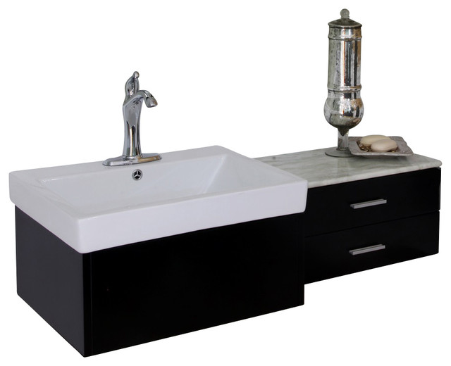 45 single sink bathroom vanity bellaterra 45 8 quot single sink vanity wood black 21832