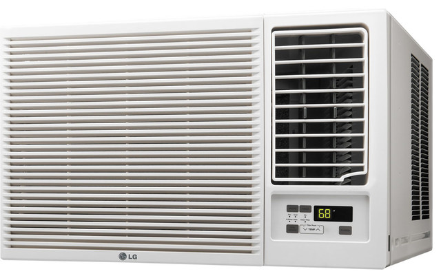 23,000 Btu 230v Window-Mounted Ac, 11,600 Btu Supplemental Heat Function