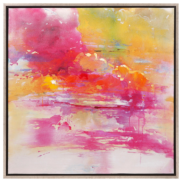 Alexa Wall Art With Frame 11503 contemporary-paintings