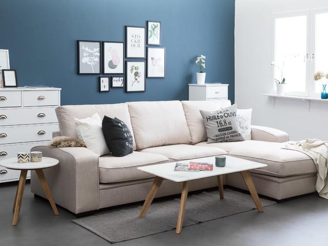 Bianca Marmorbord Ek/Vit - Scandinavian - Stockholm - by Furniturebox