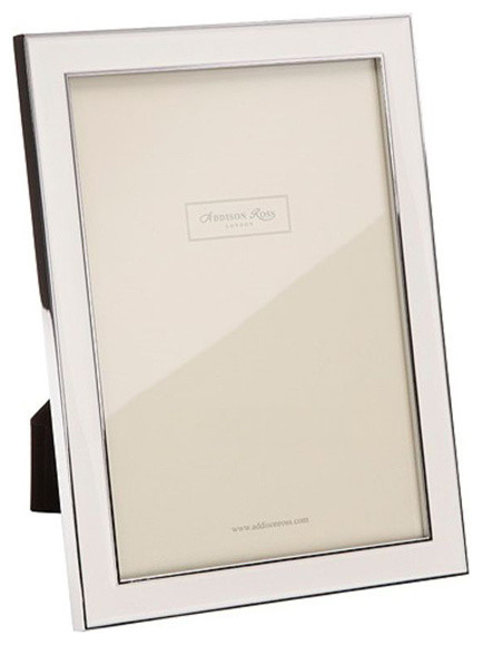 Addison Ross White Enamel Picture Frames - Contemporary - Picture ...