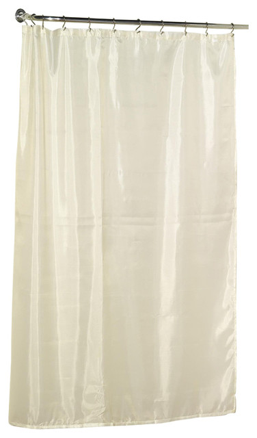 carnation home extra long 84 39 39 polyester shower curtain