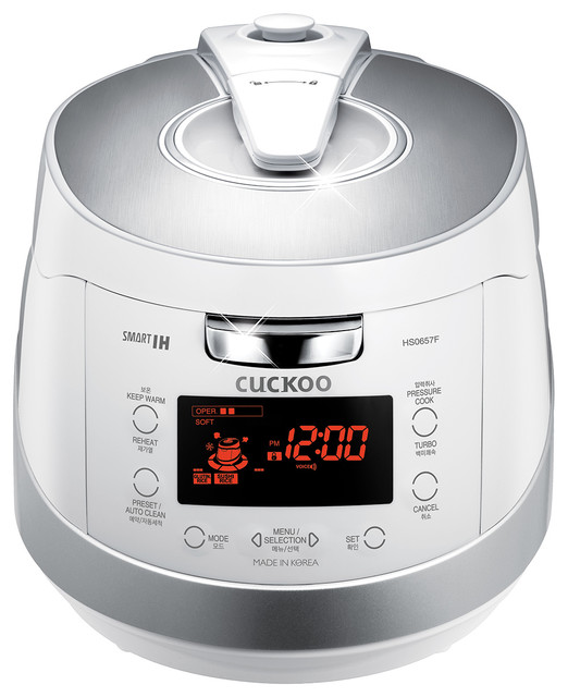 Cuckoo Electric Induction Heating Pressure Rice Cooker Crp-Hs0657fw.