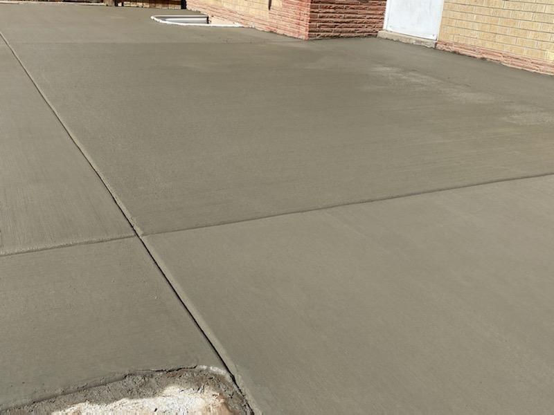 Concrete Patios and Driveways