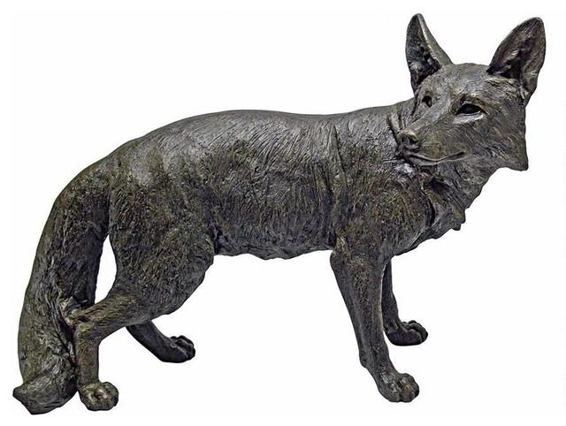 Shop Houzz Design Toscano Bushy Tail Fox Statue Garden Statues