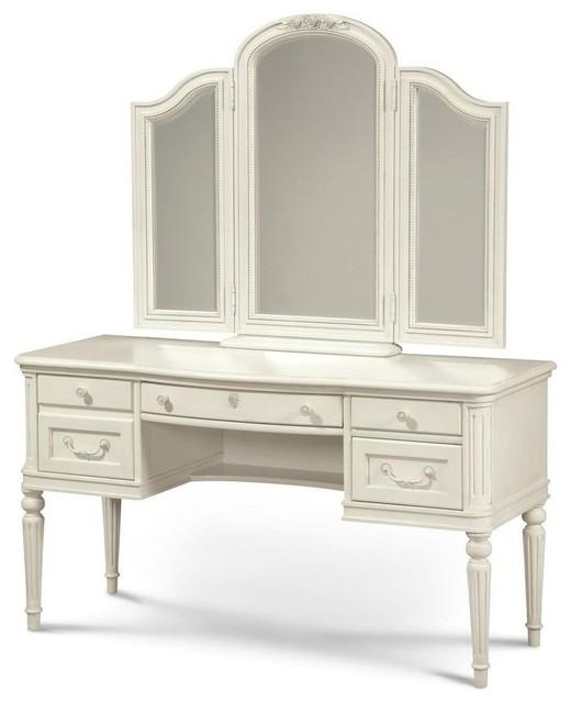 Etonnant Universal Furniture Smartstuff Gabriella Vanity Desk With Mirror