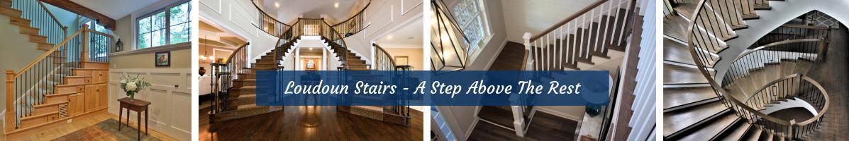 Perfect Loudoun Stairs