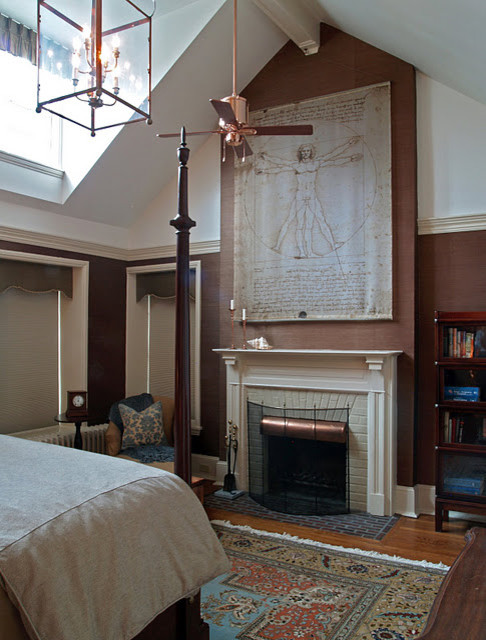 Example of an eclectic home design design in Philadelphia