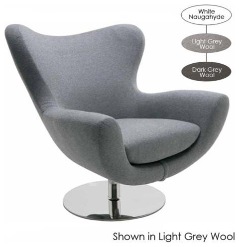 Conner Lounge Chair  Dark Grey Wool armchairs and accent chairs. Nuevoliving Conner Lounge Chair   Armchairs And Accent Chairs   Houzz