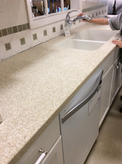 Beau Solid Acrylic Kitchen Counter Tops