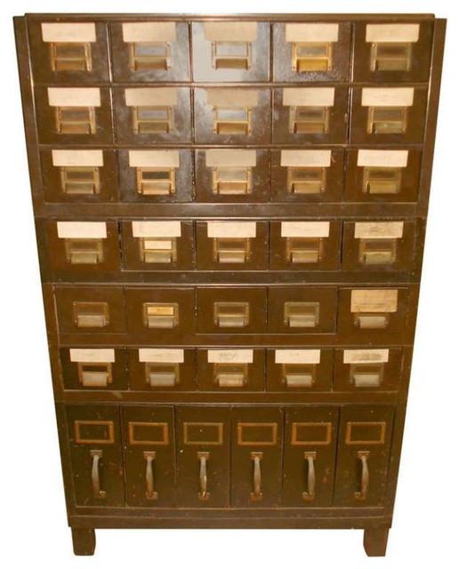 Vintage Industrial Steel File Cabinet - $1,750 Est. Retail - $875 ...