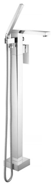 Isenberg 160.1168 - Freestanding Floor Mount Bath Tub Filler, Chrome