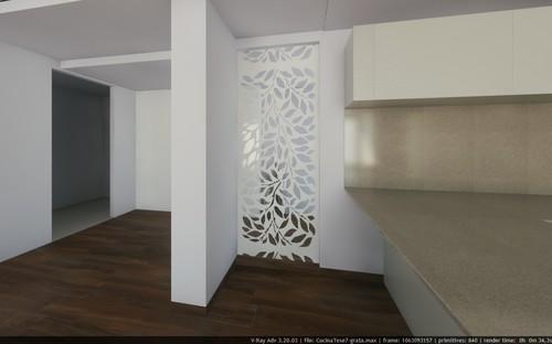 Come dividere ingresso e cucina!!