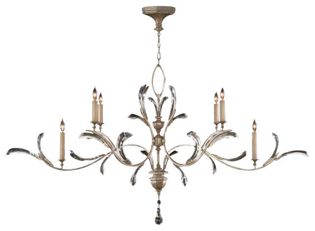 Fine Art Lamps Beveled Arcs Chandelier