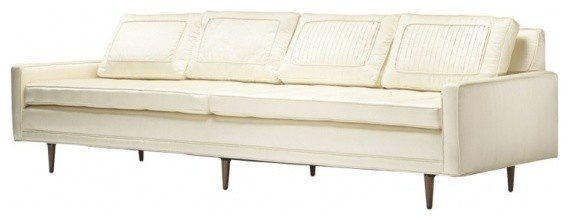 Sofa Inspired By Edward Wormley Transitional Sofas