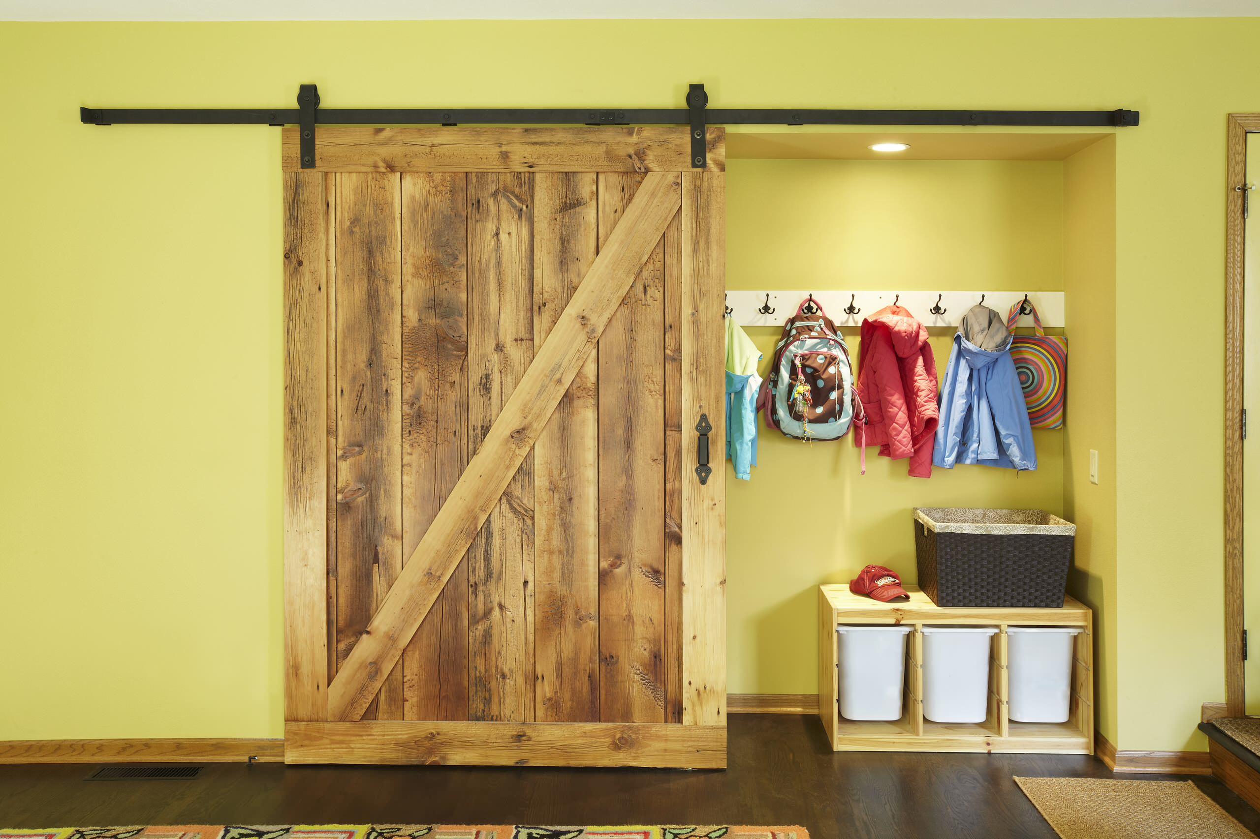 Barn Door Closet Houzz