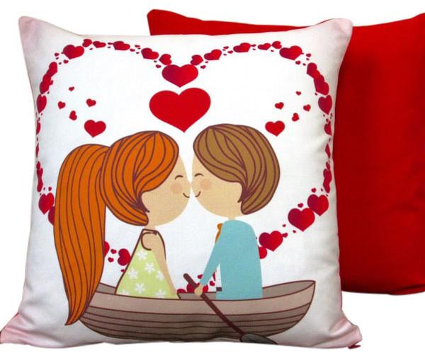 Decorative Valentine Pillows : Artisan Pillows - Valentine s Day Cotton And Linen 17
