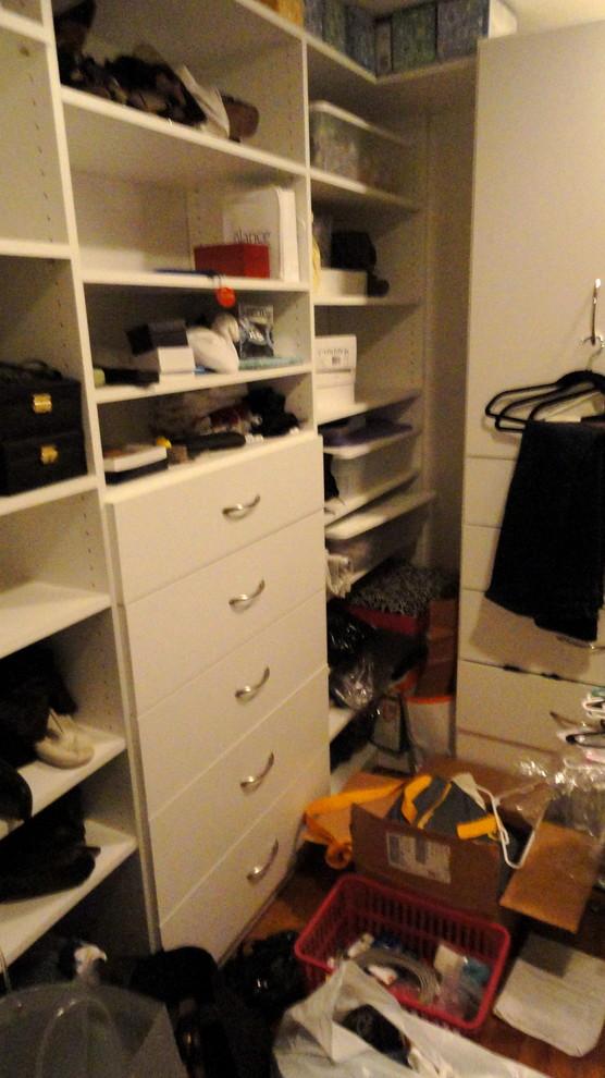 Before Organizing Dressing Room