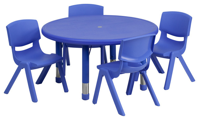 Flash Furniture Activity Table Set Traditional Kids Tables And