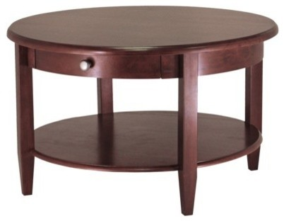 should i get a glass round glass coffee table or round wood?