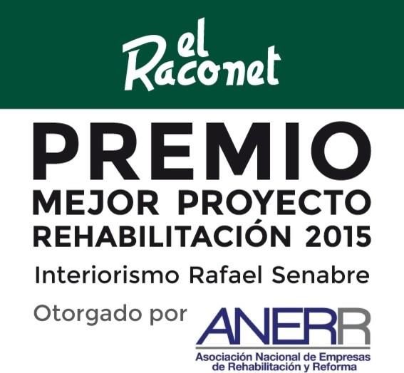 PREMIO ANERR, REFORMA RACONET. JAVEA