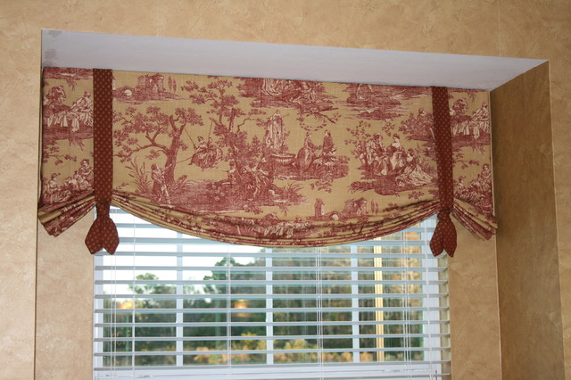Simple Kitchen Valance simple kitchen valence - rustic - denver -finishing touches